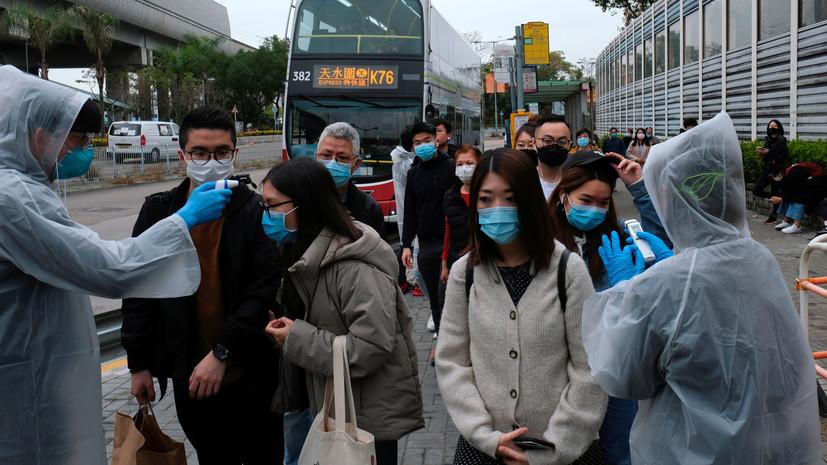 ВОЗ: вспышка коронавируса не переросла в пандемию