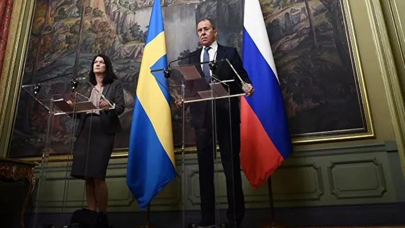Россия предложила Швеции наладить диалог по линии военных