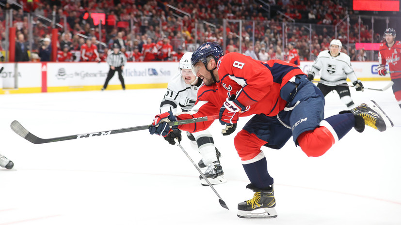 Овечкин установил достижение среди возрастных игроков в НХЛ
