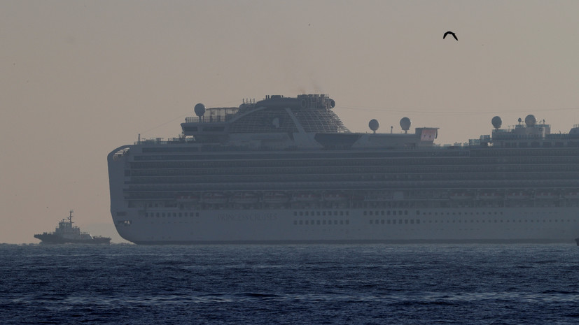 Посольство оказывает помощь находящимся на лайнере в Японии россиянам