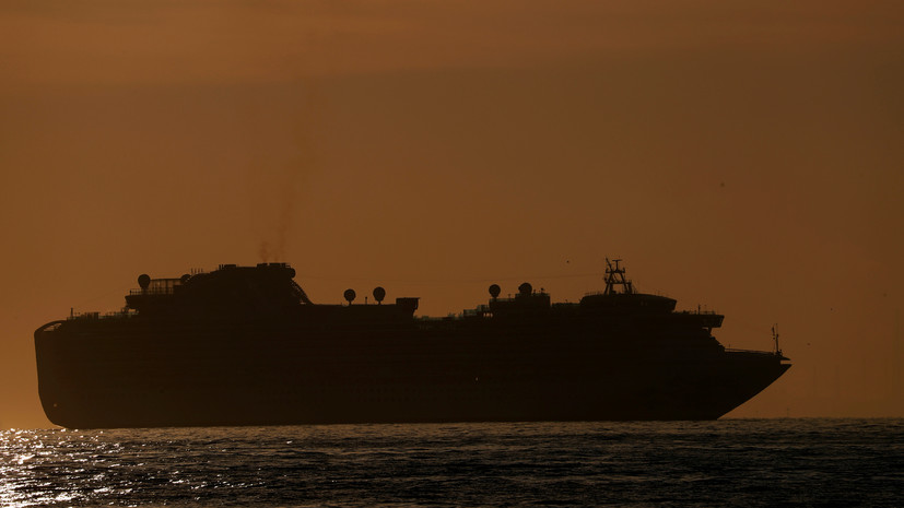 Находящийся на лайнере в Японии россиянин рассказал об обстановке