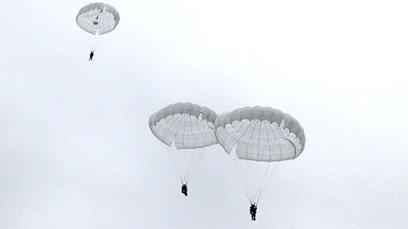 Более 500 морпехов ЧФ принимают участие в сборах по воздушно-десантной подготовке