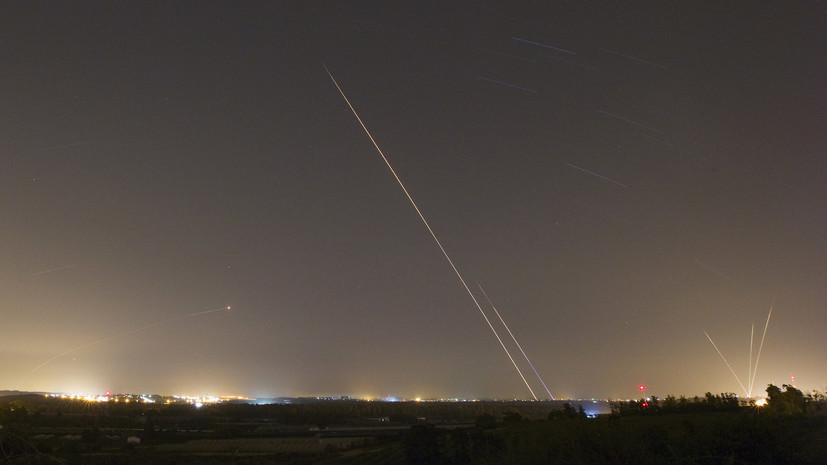 В Израиле заявили о пуске двух миномётных снарядов из сектора Газа