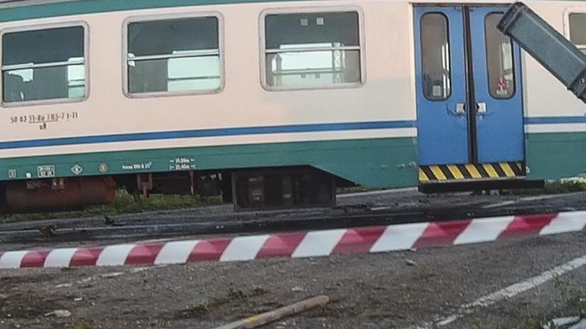 В Италии скоростной поезд сошёл с рельсов