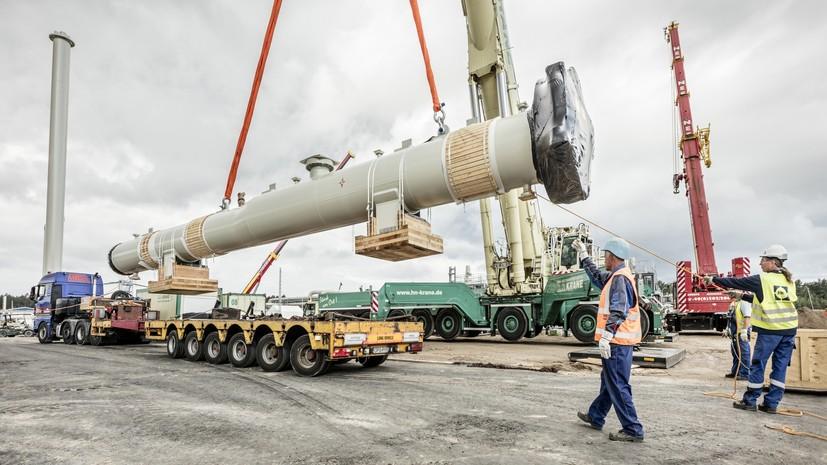 В OMV назвали сумму инвестиций в «Северный поток — 2» в 2019 году