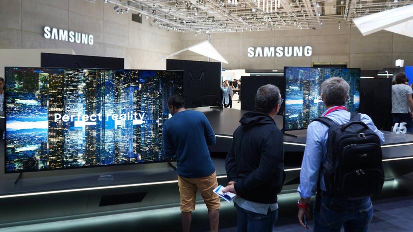 В Samsung объяснили блокировку ряда функций телевизоров в России