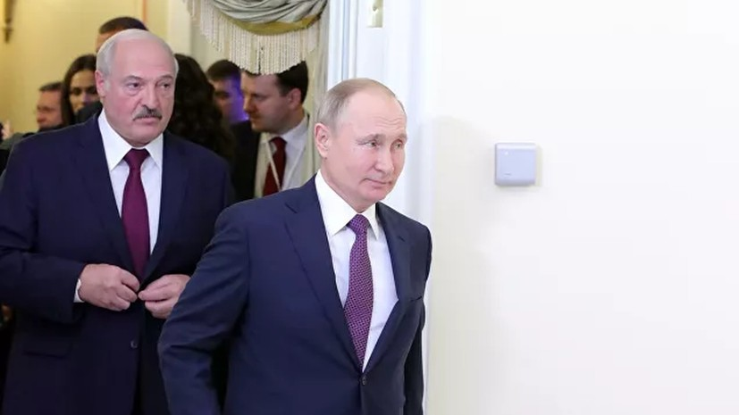 Путин предложил Лукашенко «кашку» на воде