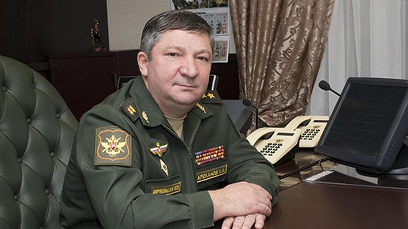 СК просит арестовать замначальника Генштаба Арсланова