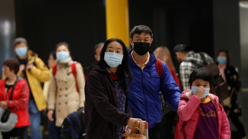 Турция запретила ввоз ряда продуктов из КНР из-за коронавируса