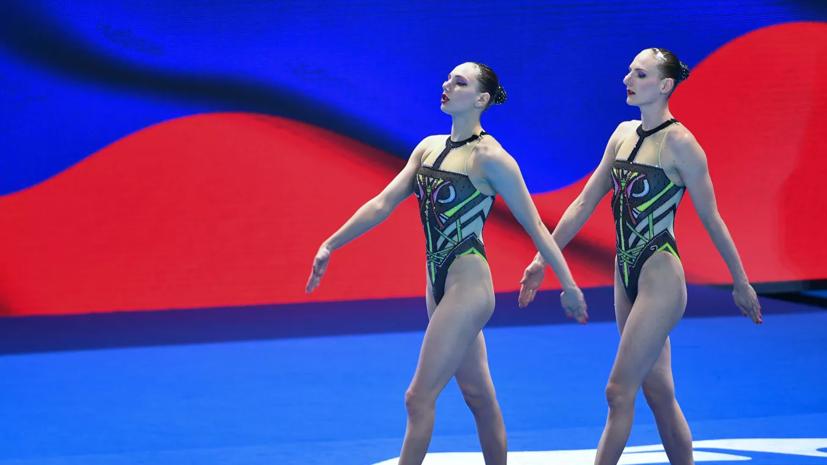 Колесниченко и Ромашина стали спортсменками года в синхронном плавании по версии FINA