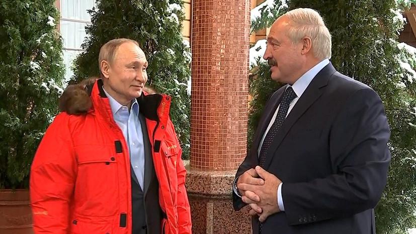 Козак оценил переговоры Путина и Лукашенко в Сочи