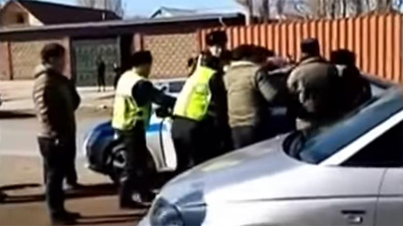 МВД Казахстана оценило ущерб от массовой драки на юге страны