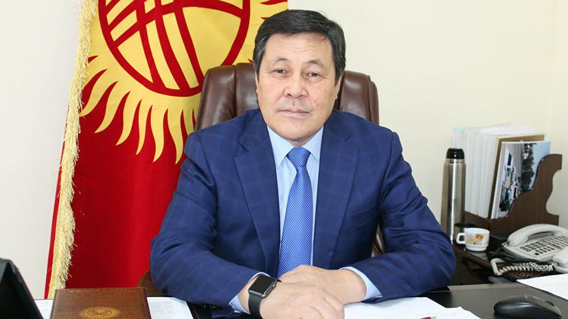 В Киргизии задержали замминистра транспорта за взятку в $10 тысяч