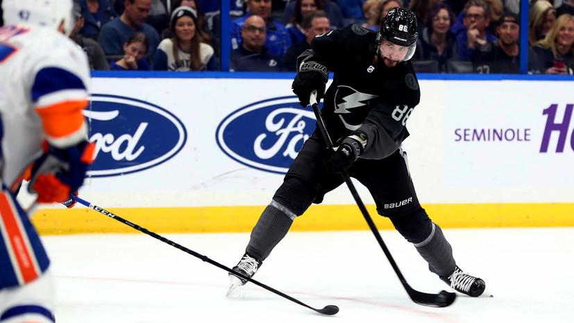 Кучеров повторил достижение Малкина и Халла в НХЛ