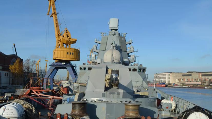 Фрегат «Адмирал Касатонов» испытал комплекс РЭБ в Баренцевом море