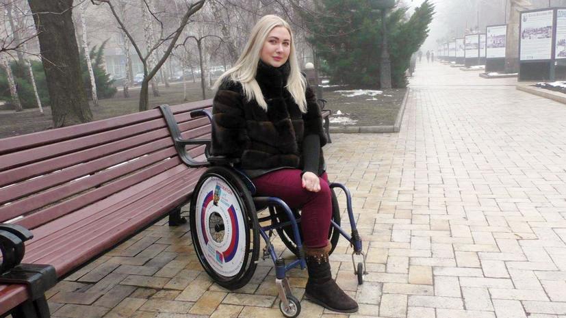 Юлия Михайлова была изувечена при артобстреле