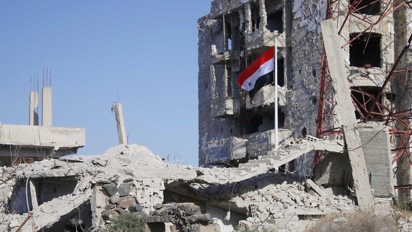 Турция нанесла удар по позициям сирийской армии