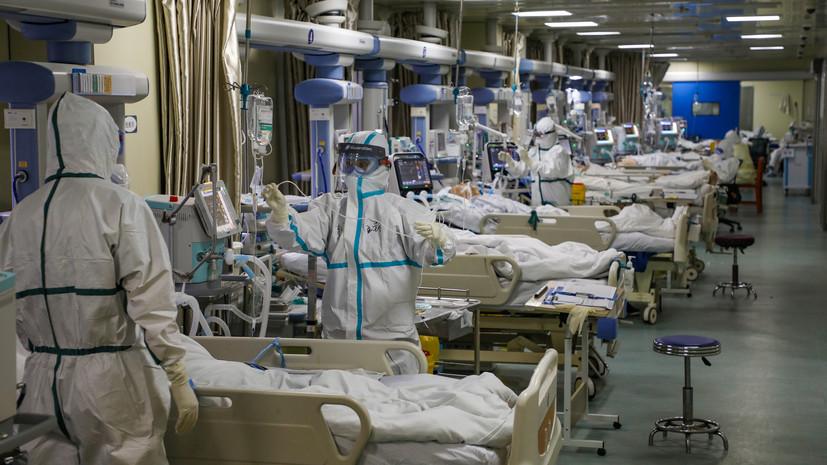 Число жертв коронавируса в китайской провинции Хубэй возросло до 974