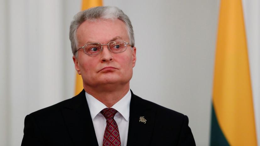 """Президент Литвы призвал не верить """"браваде"""" Лукашенко о коронавирусе"""