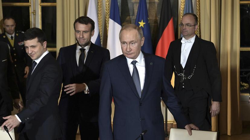 Зеленский рассказал о контакте с Путиным «глаза в глаза»