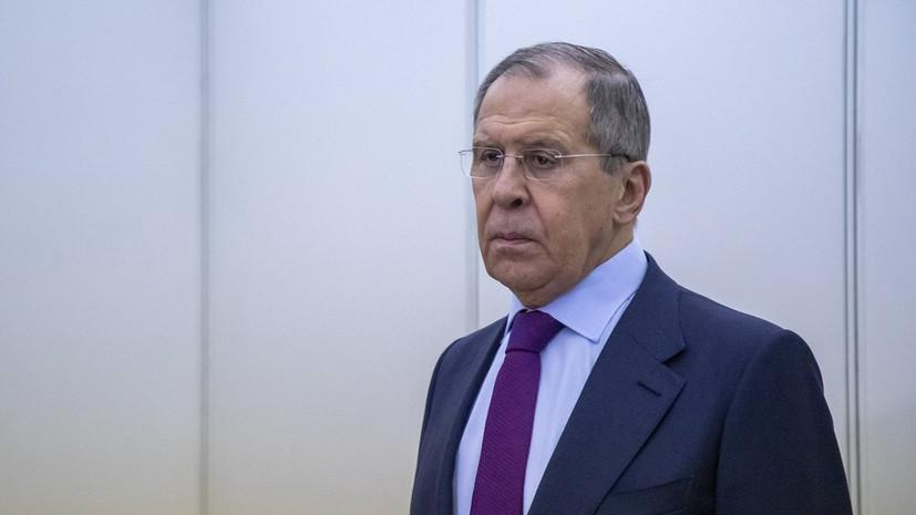 Лавров обсудил с главой МИД Германии ситуацию в Ливии