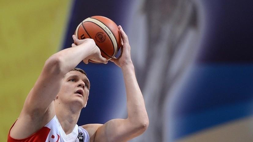 Баскетболист Мозгов улетел на обследование в Германию и скоро может приступить к тренировкам