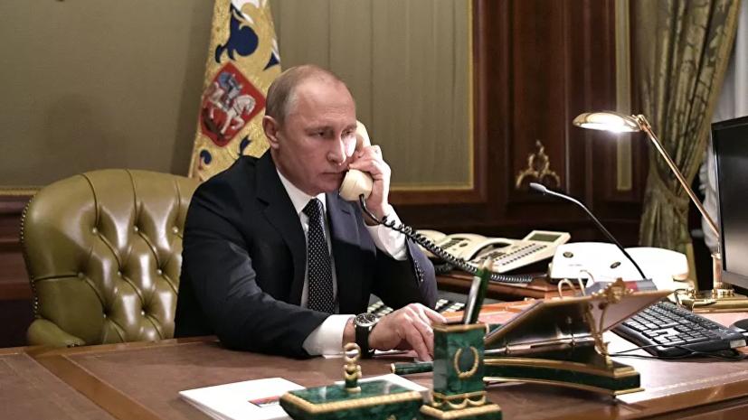 Путин и Эрдоган обсудили обострение ситуации в Идлибе