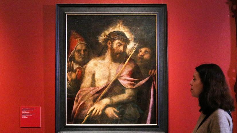 Картину Тициана вернули в экспозицию Пушкинского музея после реставрации