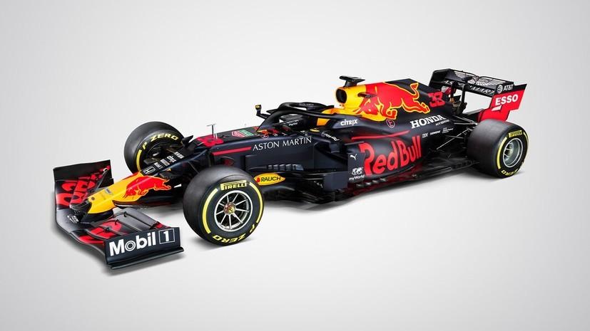 Red Bull показал новый болид на следующий сезон «Формулы-1»