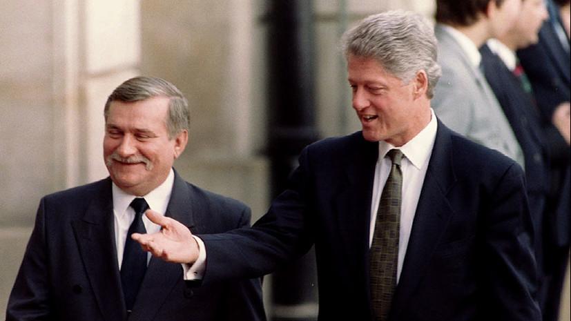 «Банальный разговор»: что стоит за историческим диалогом Леха Валенсы и Билла Клинтона об «опасности» России