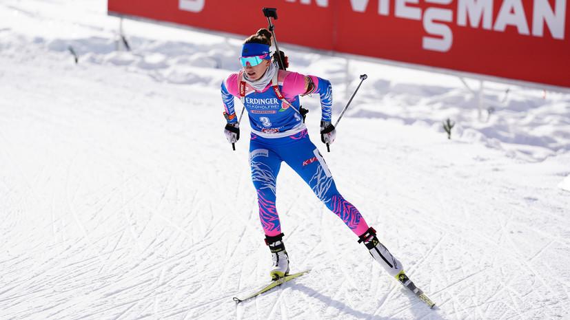 Вдалеке от наград: россиянки не попали в топ-20 женского спринта на ЧМ по биатлону