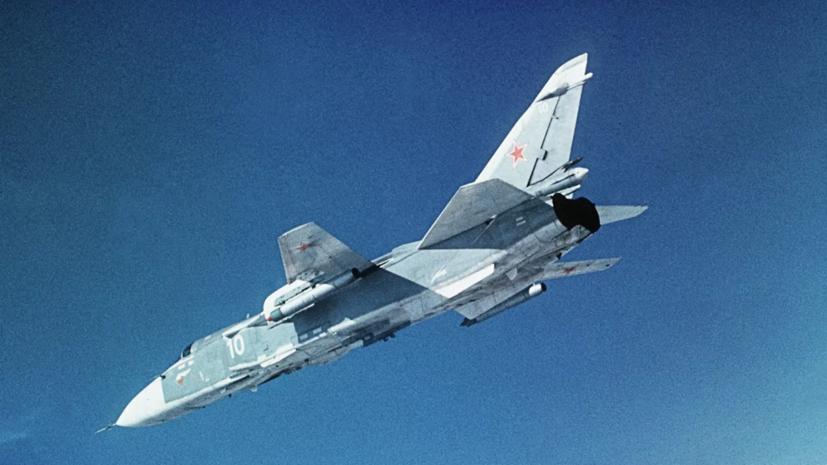 Экипажи Су-24М приняли участие в учениях в Волгоградской области