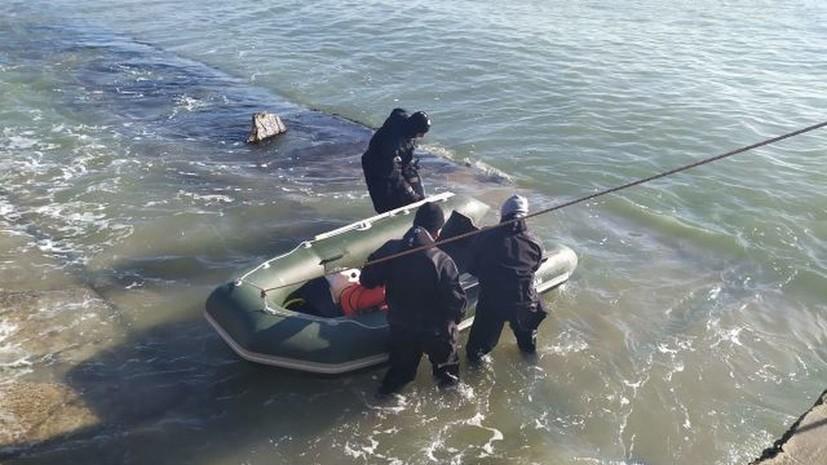 В Крыму у берегов Феодосии обнаружили авиабомбу