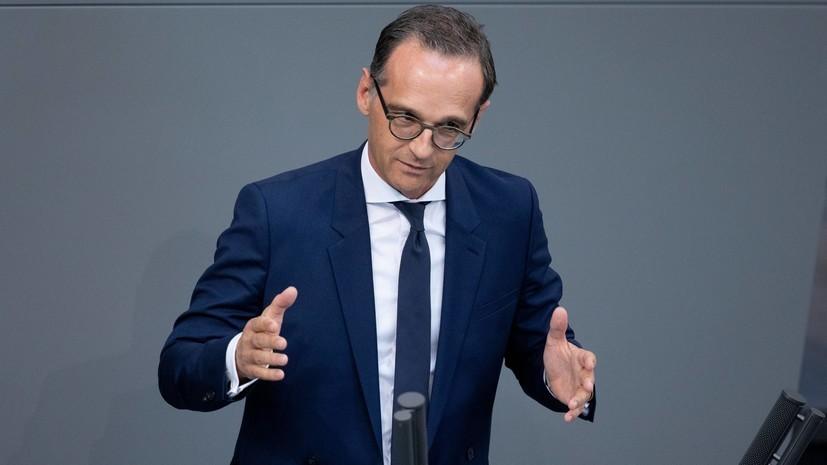 Маас: ФРГ подготовит базу для встречи «нормандской четвёрки»