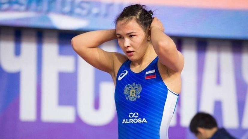 Оршуш завоевала бронзу ЧЕ по борьбе в весовой категории до 53 кг