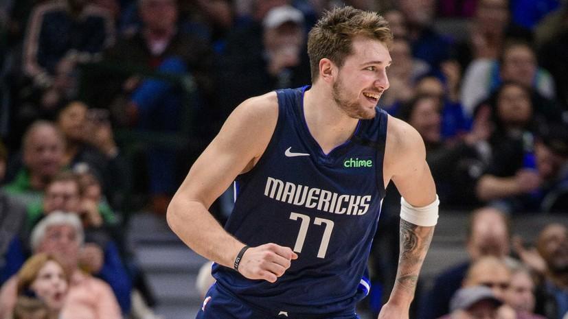 Баскетболист «Далласа» Дончич намерен сыграть в отборе на ОИ-2020