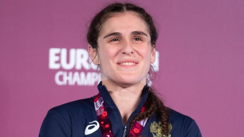 Воробьёва стала чемпионкой Европы по борьбе в категории до 72 кг
