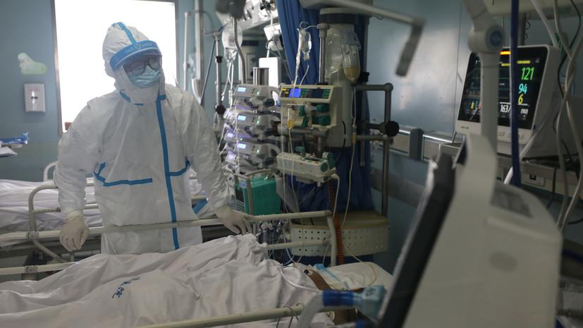 Число заражённых коронавирусом в Хубэе возросло до 54,4 тысяч человек