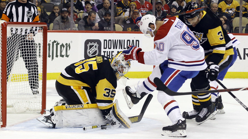 «Питтсбург» одолел «Монреаль» в НХЛ, Малкин и Ковальчук не отличились