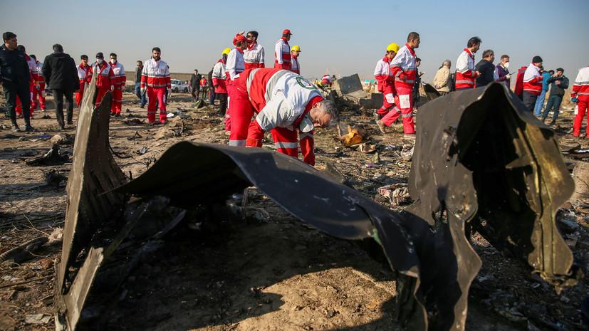 Пять стран вновь призвали Иран к выплате компенсаций за сбитый самолёт