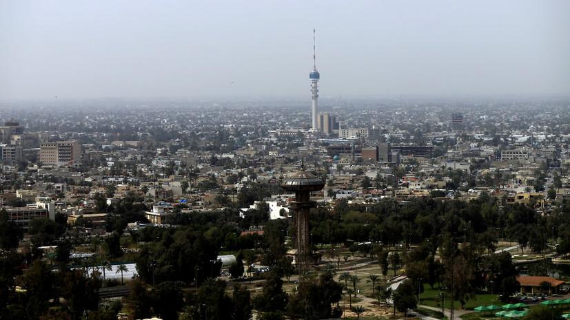 В«зелёной зоне» Багдада упали три ракеты