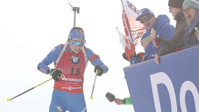 Вирер победила в пасьюте на ЧМ по биатлону, Юрлова-Перхт — 12-я