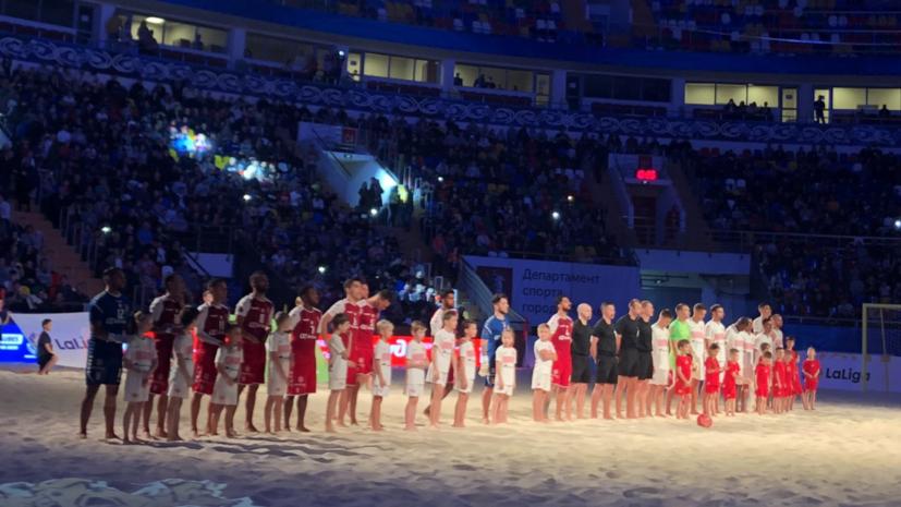 «Спартак» проиграл «Браге» в финале клубного ЧМ по пляжному футболу