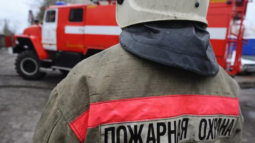 Женщина и ребёнок погибли при пожаре в Ленинградской области