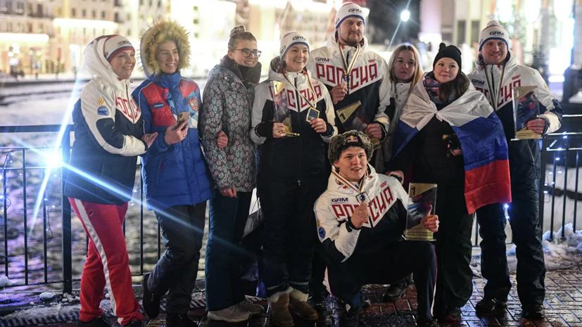 Сборная России выиграла медальный зачёт ЧМ по санному спорту в Сочи