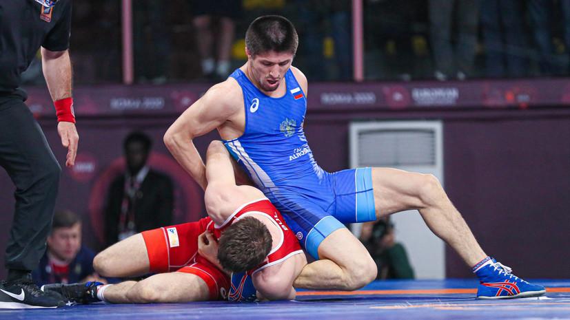 Газимагомедов стал серебряным призёром ЧЕ по борьбе в Риме