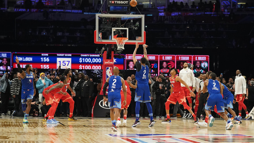 Команда Леброна одержала победу над командой Янниса в Матче звёзд НБА