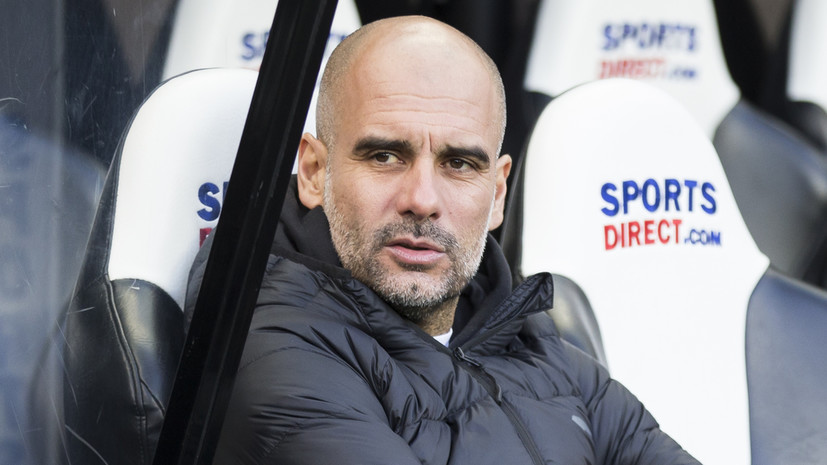 СМИ: Гвардиола намерен отработать до конца контракт с «Манчестер Сити»