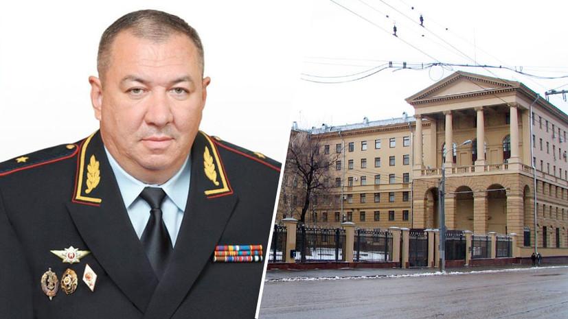 «По выслуге лет»: начальник московской полиции подал в отставку