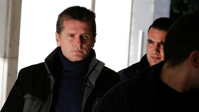 Суд в Париже оставил Винника под стражей